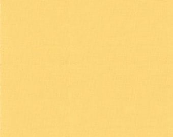 Moda Yellow Goldenrod Bella Solids   #9900-81