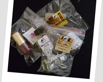 SUKRAN Concentrated Perfume Oil and Attars - Choose Any 3 - Sample Size Only
