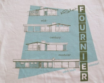 Mens Medium Fournier T-Shirt Buff