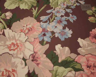 Imperial Wallpaper Sample Big Flowers