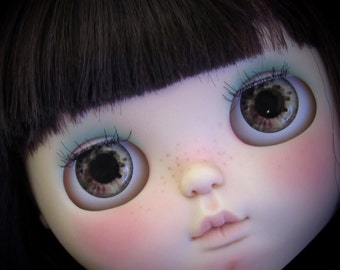 Realistic Blythe doll eyechip - Ivory Tones