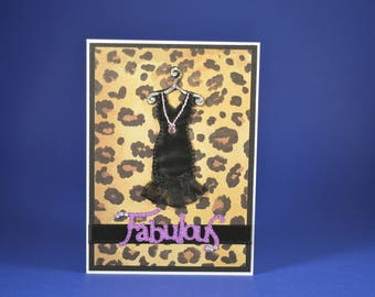 Fabulous Leopard with a Little Black Dress