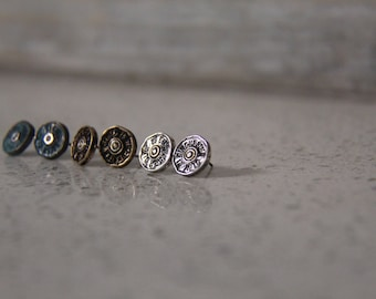Western earrings, Winchester Earrings, Winchester bullet, rodeo jewelry, western jewelry, southern jewelry, Bullet earrings, bullet studs
