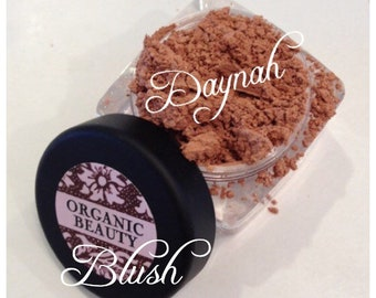 DAYNAH Blush Organic Golden Peach Shade Organic Vegan All Natural Pure Gluten Free