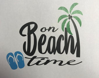 Beach Shirt - On Beach Time
