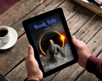 "Premade Ebook Cover ""Mysticr"" Fiction Literary Fiction Metaphysical Fantasy Adventure"