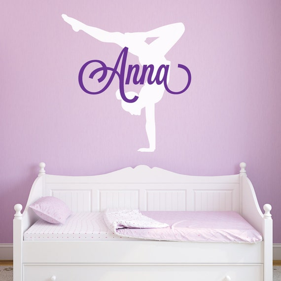 Gymnastics Wall Decals Gymnastics Decal Gymnastics Wall