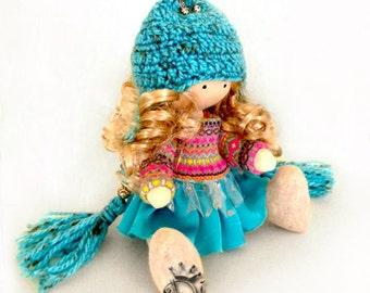 Vasilisa-Handmade Collection Cloth Dolls-Art Doll-Home Decoration 28 cm