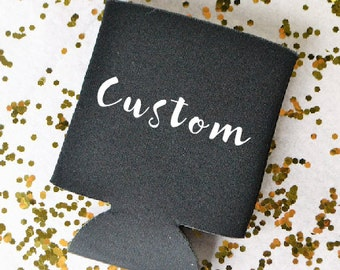 Custom can cooler-create your own