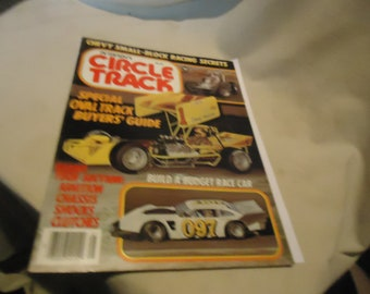 Vintage Petersen's Circle Track Special Oval Track Buyer's Guide Magazine, collectable