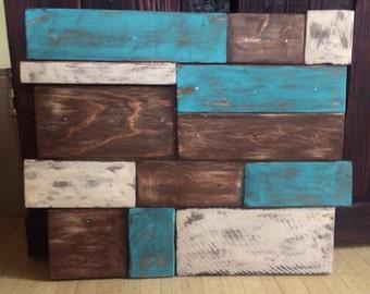 Reclaimed Wood Mosaic