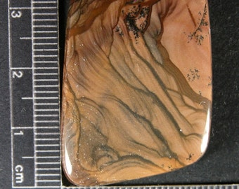 Royal Sahara Jasper Cabochon Hand Cut JRS4