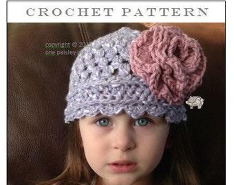 Gracyn Baby & Toddler Hat - PDF CROCHET PATTERN