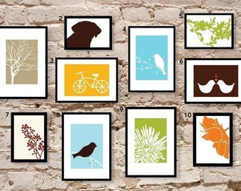 Set of 5 5x7s - The MAE Collection - Modern Art Prints