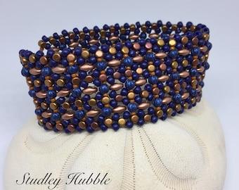 PATTERN Studley Hubble bracelet Tutorial Cuff