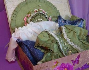 Formelle robe coloniale s'adapte American Girl poupées Felicity ou Elizabeth - Paris des Fleurs-