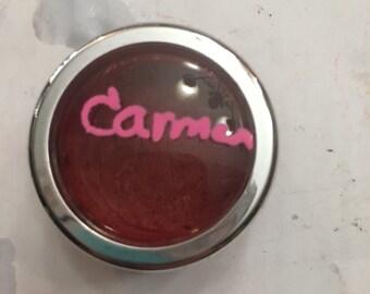 Carmen~ Hot Red Lipstick W/ Applicator