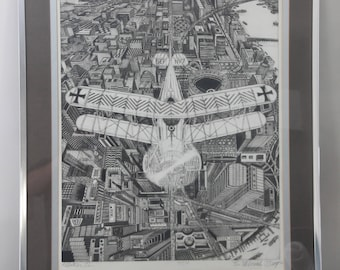 ALBATROS II by BRUCE McCOMBS * Exceptional Print * Signed and Numbered