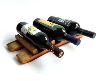 Countertop Wine Rack | Tabletop Wine Bottle Holder | Wine Gift