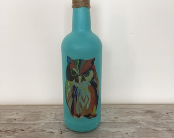 Owl bottle