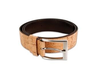 Cork Men Belt - FREE SHIPPING WORLDWIDE