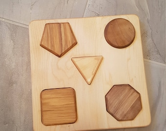 Wooden Educational Puzzle