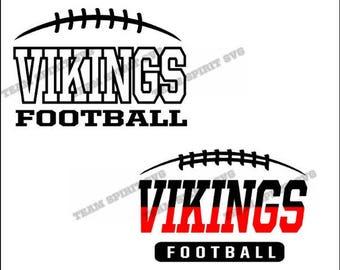 Vikings Football Laces Download Files - SVG, DXF, EPS, Silhouette Studio, Vinyl Cut Files, Digital Cut Files -Use with Cricut and Silhouette