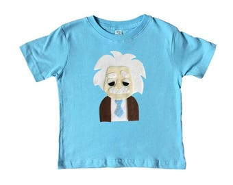 Einstein Kids Tee - Light Blue
