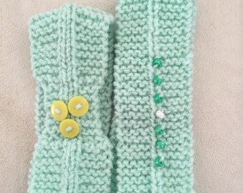 Hand knitted headband Ear warmer