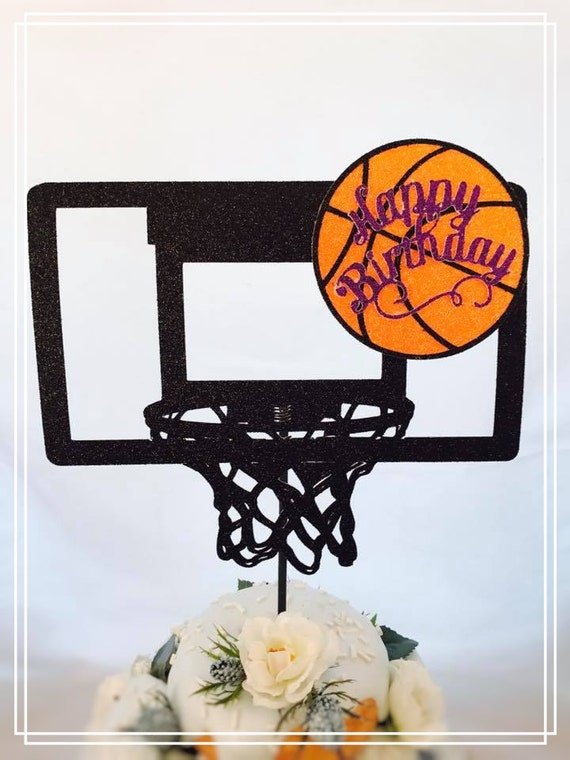 Basketball Cake Topper Basketball Party Decorations