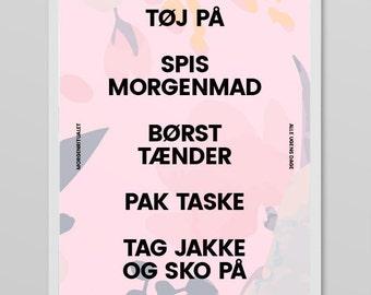 Morgenritual Plakat