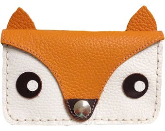 Fox Purse Kit Foxy Purse Fox Leather Purse Purse Kit Leather Purse Kit
