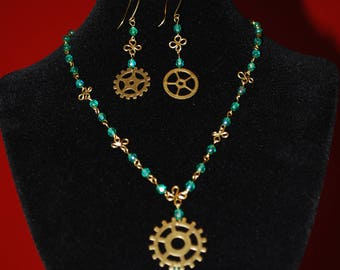Steampunk Style 3 pieces set