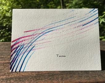 Thank You Note Card Set, Unique #1