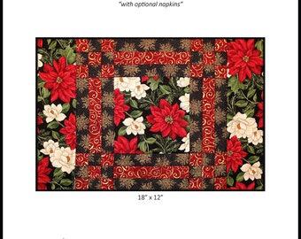 Elegance Placemats PDF Quilt Pattern