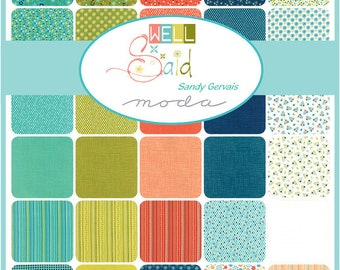 "New! Well Said - Jelly Roll - (40) 2.5"" Strips - by Sandy Gervais - MODA - Quilting/Sewing Fabric - Fabulous Quilt!!"