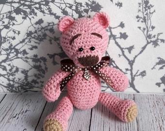 Bear Teddy, teddy Worry Bear, Personalized teddy bear, Teddy bear Gift,Personalized worry Bear, Personalized Teddy
