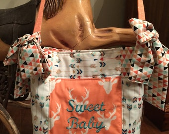 Boutique Diaper Bag Sweet Baby