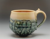 Handmade Pottery Mug Gree...