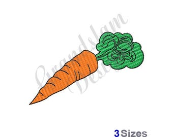 Carrot - Machine Embroidery Design