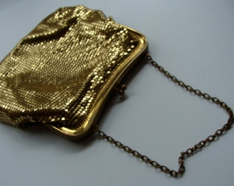 Antique Mesh Whiting and Davis Co. Victorian Edwardian Purse