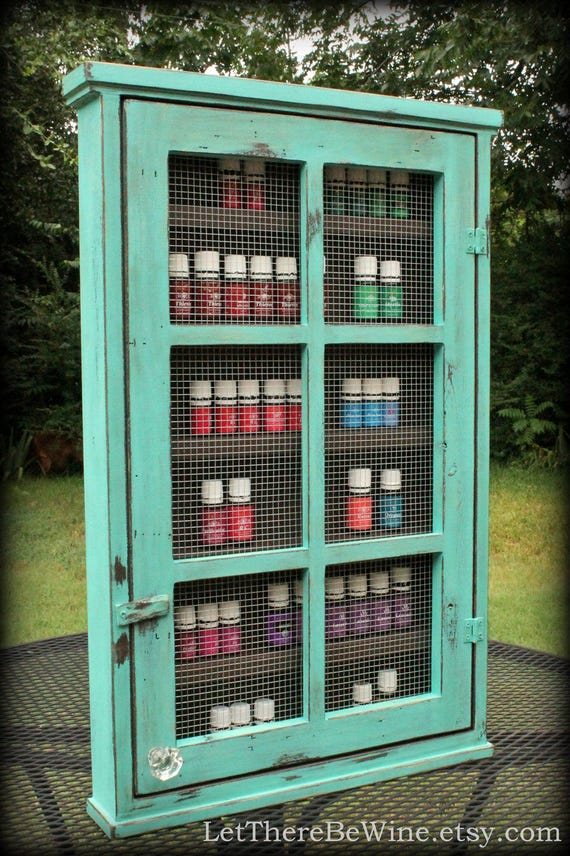 ESSENTIAL OIL STORAGE Nail Polish Shelving Cabinet Shelf or