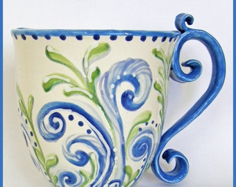 Planter wall mug
