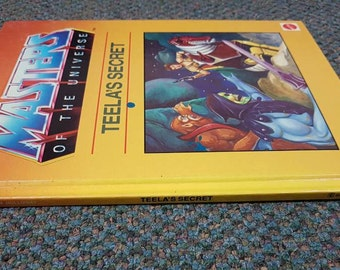 Masters of the Universe Teela's Secret HC 1985 He-man A Golden Book MATTEL