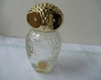 10  Year Anniversary Gift For Wife, Gift For Her, Gift For Daughter, Perfume Bottle, Avon, Wedding Anniversary, Owl, PioneerFundraiser