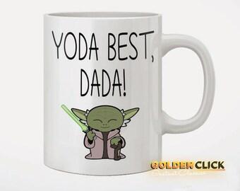 Yoda Best Dada Fathers Day Coffee Mug
