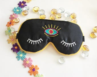Third Eye Sleep Mask Eye Mask Travel Eye Mask Blindfold Bachelorette Party Mask.