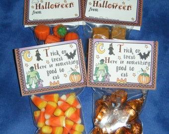 Halloween Candy Bag Topper