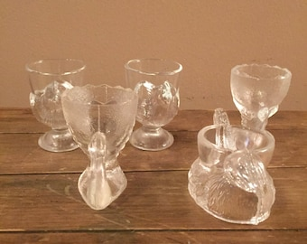 Glass Egg Cups