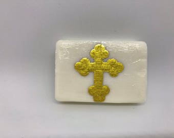 Baptism Soaps, Gift Soaps, Hand-Painted Soaps, Orthodox Cross Soaps